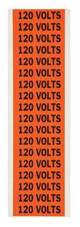 Voltage Card, 18 Marker, 120 Volts