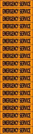 Voltage Card, 18 Marker, Emergency Service