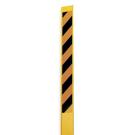 Reflective Marking Stake, Yellow/Black