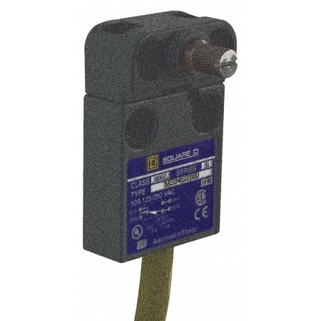 Miniature Limit Switch, 7.70 in. D