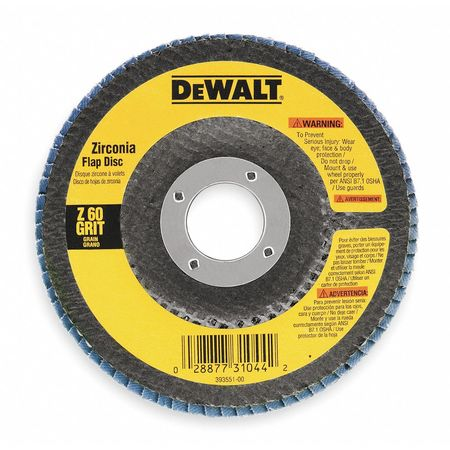 Arbor Mount Flap Disc, 4-1/2in, 36, Coarse