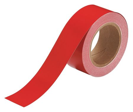 Banding Tape, Red, 2 In. W, 90 ft. L
