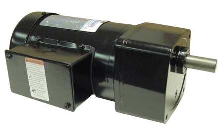 AC Gearmotor, 9 rpm, TEFC, 208-230/460V