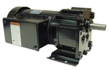 AC Gearmotor, 60 rpm, TEFC, 208-230V