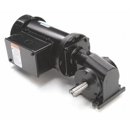 AC Gearmotor, 86 rpm, TEFC, 208-230V