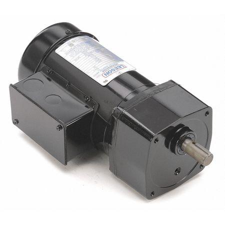 AC Gearmotor, 58 rpm, TEFC, 208-230/460V
