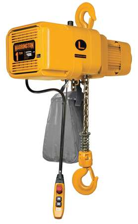 Electric Chain Hoist, 2000 lb., 10 ft.