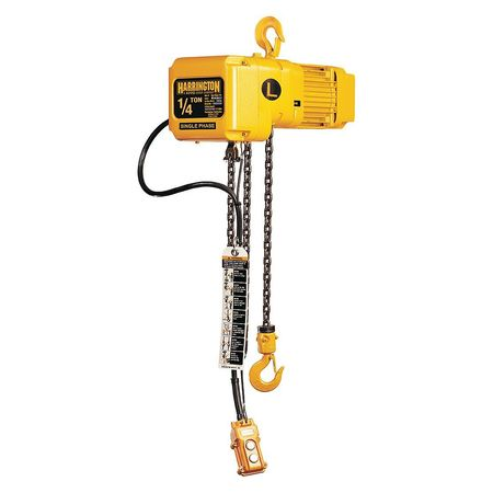 Electric Chain Hoist, 500 lb., 10 ft.