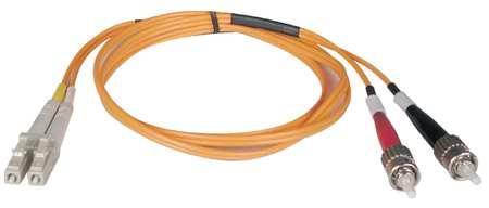 Fiber Optic Patch Cord, LC/ST, 1m, Multi