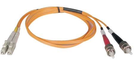 Fiber Optic Patch Cord, LC/ST, 2m, Multi