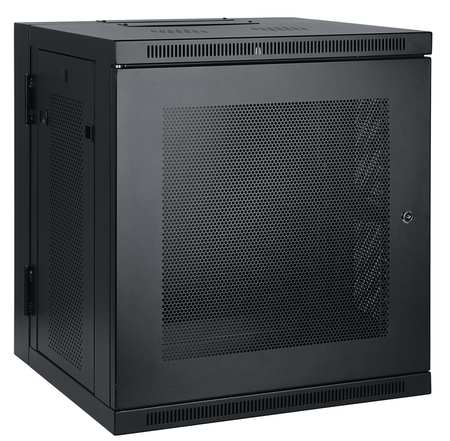 Rack Enclosure, 12U, 27.95 in H, 26.38 in W