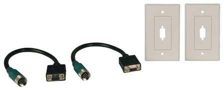 SVGA Connector Kit, SVGA, Wall Plate