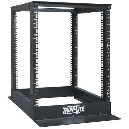 Open Frame Rack, 4-Post, 13U, 13in H, 36in D