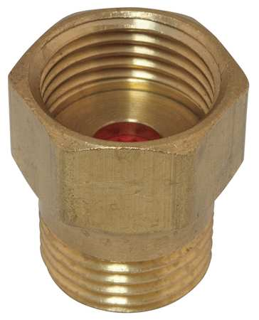 Flow Control Adapter, Brass