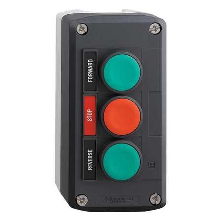 Push Button Control Station, 2NO/1NC, 22mm