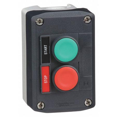 Push Button Control Station, 1NO/1NC, 22mm