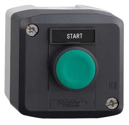Push Buttn Cntrol Station, 1NO, Start, 22mm