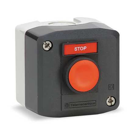 Push Button Contrl Station, 1NC, Stop, 22mm