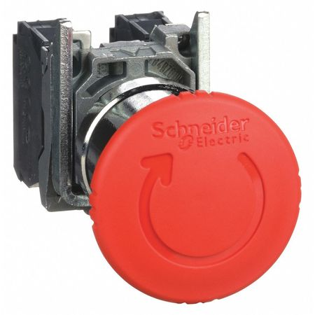 Emergency Stop Push Button, Red
