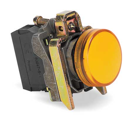 Pilot Light Complete, Yellow, 22mm