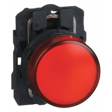 Pilot Light Complete, Red, LED
