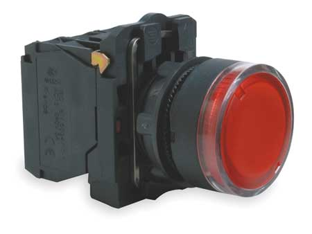 Illuminated Push Button, 22mm, Red