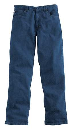 Pants, Blue, Cotton, 42 x 30 In.