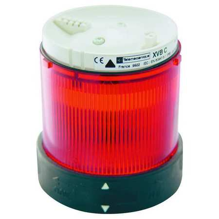 Tower Light Module Steady, 240V, 70mm, Rd