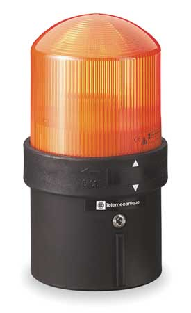 Warning Light, LED, Orange, 24VAC/24-48VDC