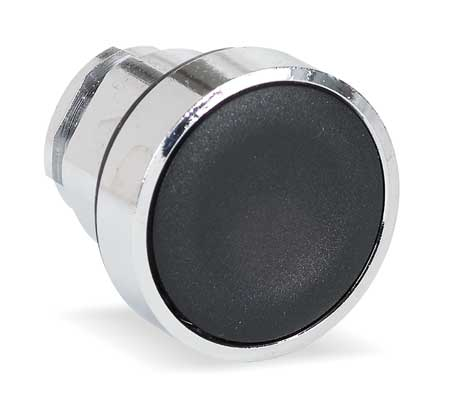 Pushbutton, 22mm, BK, Maintained, Flush