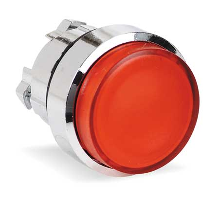 Illum Push Button Operator, 22mm, Red
