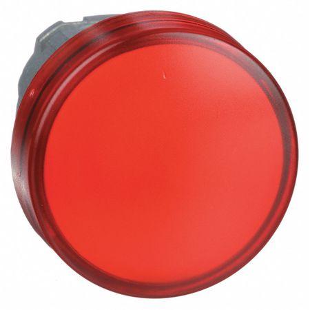 Pilot Light Head, Red, LED