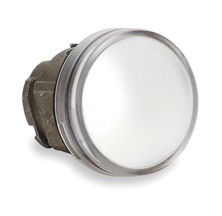 Pilot Light Head, White, LED