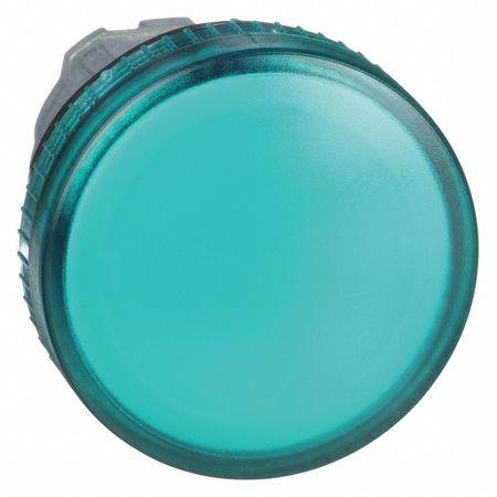 Pilot Light Head, Green, 22mm