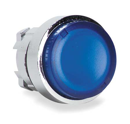 Illum Push Button Operator, 22mm, Blue