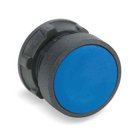 Non-Illum Push Button Operator, 22mm, Blue