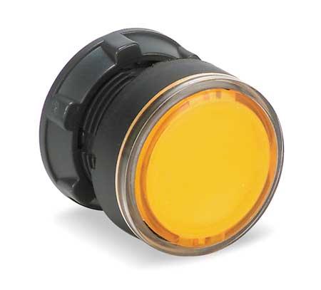 Illum Push Button Operator, 22mm, Yellow