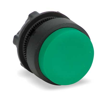 Non-Illum Push Button Operator, Green