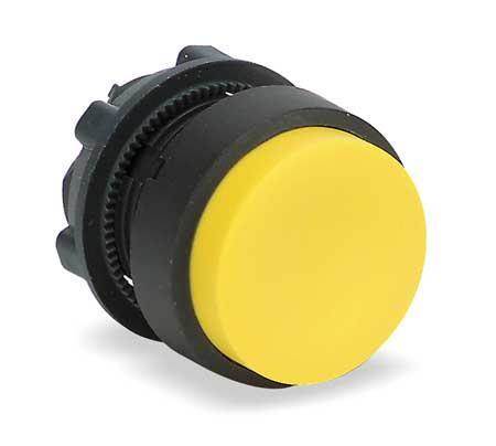 Non-Illum Push Button Operator, Yellow