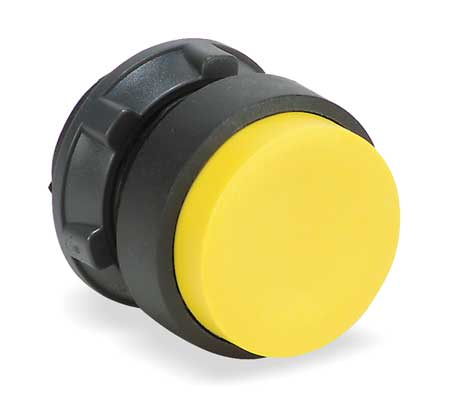 Non-Illum Push Button Operator, Yellow