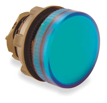 Pilot Light Head, Blue, LED
