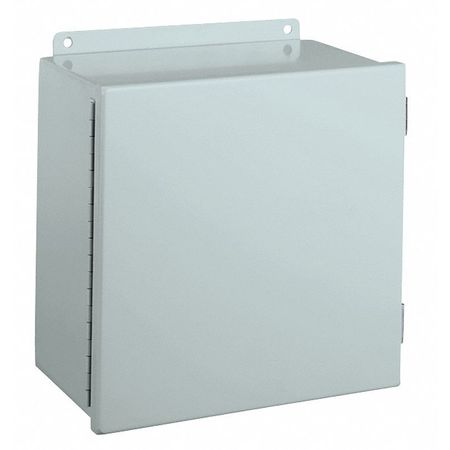 Junc Box Encl, Mtlc, 12In.Hx 10In.Wx8In.D