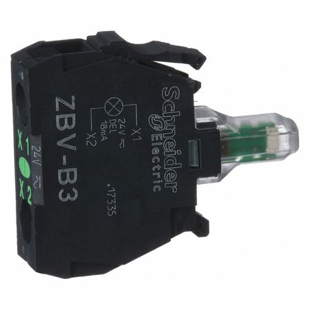 Lamp Module, 22mm, 24VAC/DC, Green, LED