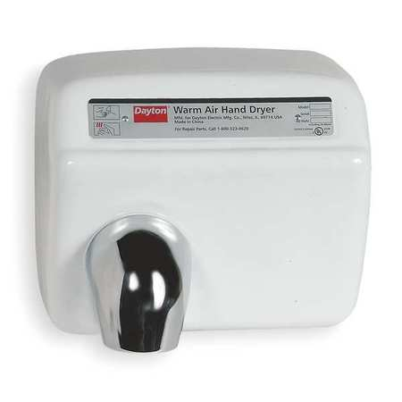 Hand Dryer,  Fixed, Cast Iron