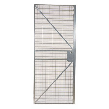 Wire Partition Hinged Door, 3 ft x 8 ft