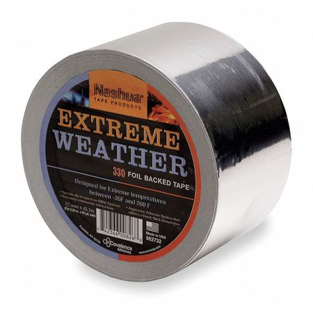 All Weather Foil Tape, 48mm x 46m, Silver