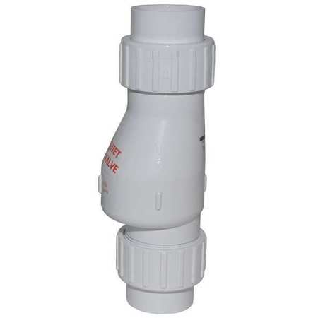 Silent PVC Full Flow Check Valve 2""