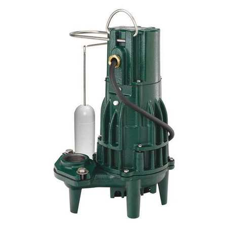 Effluent Pump, 1/2hp, 15.5A