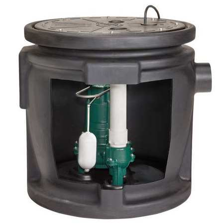 Sewage System,  1/2HP,  Vertical Switch