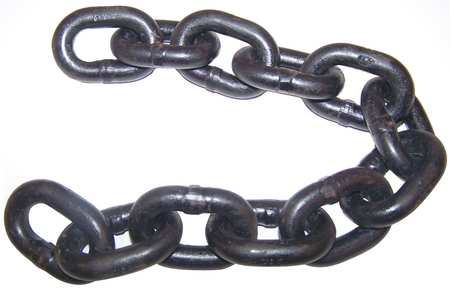Chain, Grade 80, 5/16 Size, 20 ft., 4500 lb.
